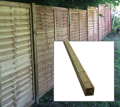 Wooden Post